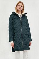 Пальто женское Finn Flare, цвет светло зеленый, размер S