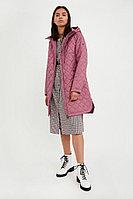Пальто женское Finn Flare, цвет вишневый, размер 3XL