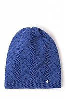 Шапка женская Finn Flare, цвет ярко-синий, размер 56