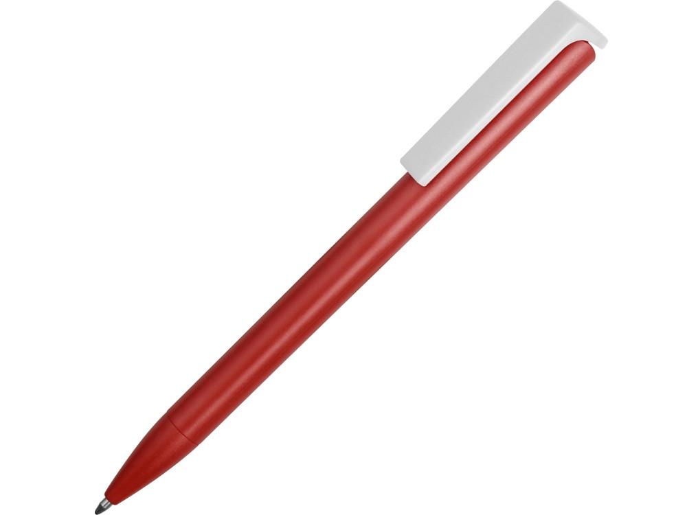 Ручка пластиковая шариковая Fillip, красный/белый