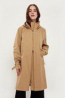 Непромокаемый плащ с капюшоном и подкладкой Finn Flare, цвет бежевый, размер XL