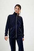 Олимпийка женская Finn Flare, цвет темно-синий, размер M
