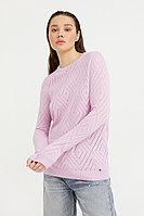 Джемпер женский Finn Flare, цвет лиловый, размер XL