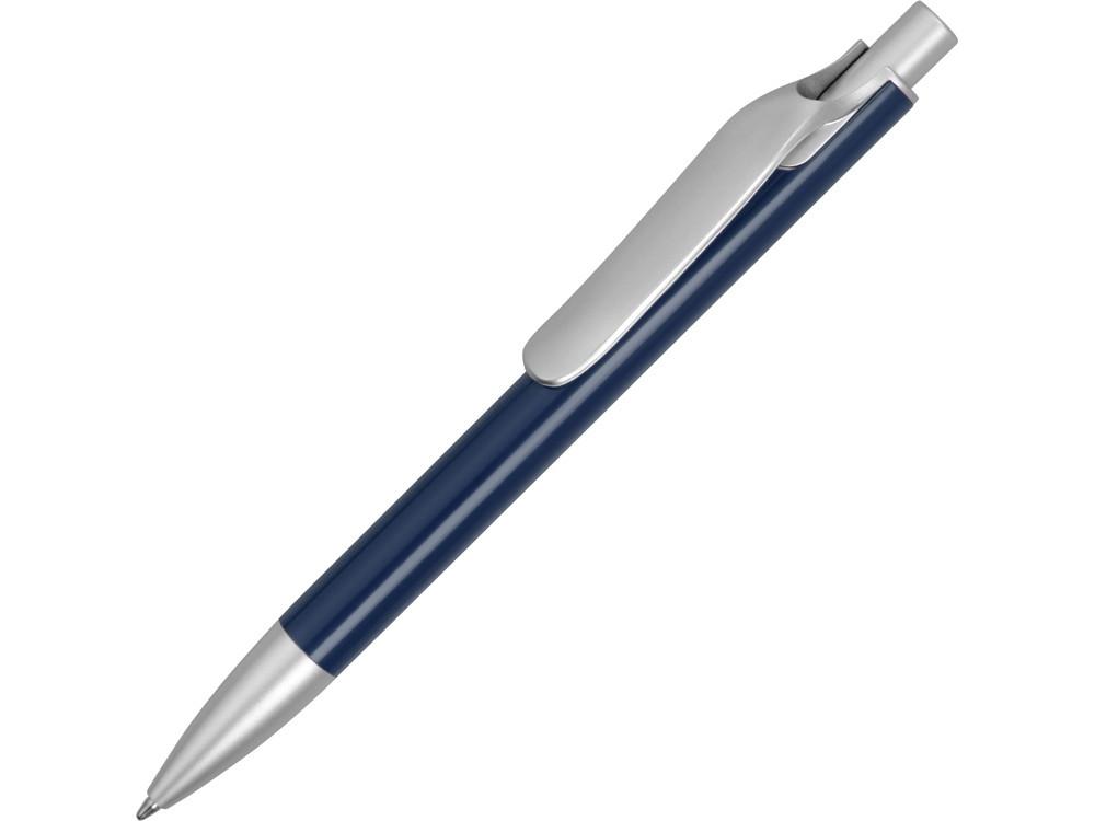 Ручка металлическая шариковая Large, темно-синий/серебристый