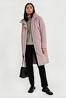 Пальто женское Finn Flare, цвет серо-розовый, размер XL