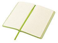 Блокнот Notepeno 130x205 мм с тонированными линованными страницами, зеленое яблоко, фото 3