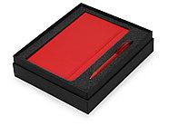 Подарочный набор Moleskine Amelie с блокнотом А5 Soft и ручкой, красный, фото 2