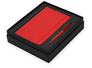 Подарочный набор Moleskine Indiana с блокнотом А5 Soft и ручкой, красный, фото 2