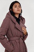 Пальто женское Finn Flare, цвет серо-сиреневый, размер 2XL