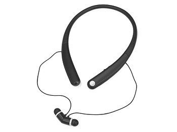 Беспроводные наушники с микрофоном Soundway, черный/белый