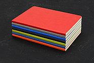 Блокнот Wispy линованный в мягкой обложке, синий, фото 2