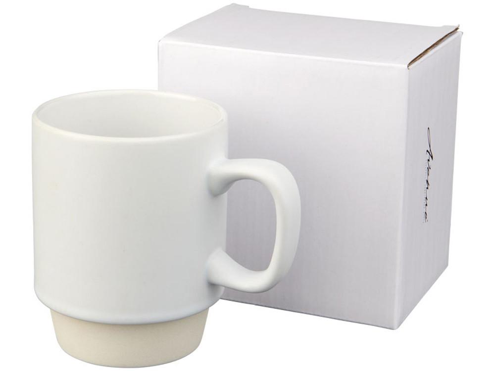 Керамическая кружка Arthur, 420 мл, белый