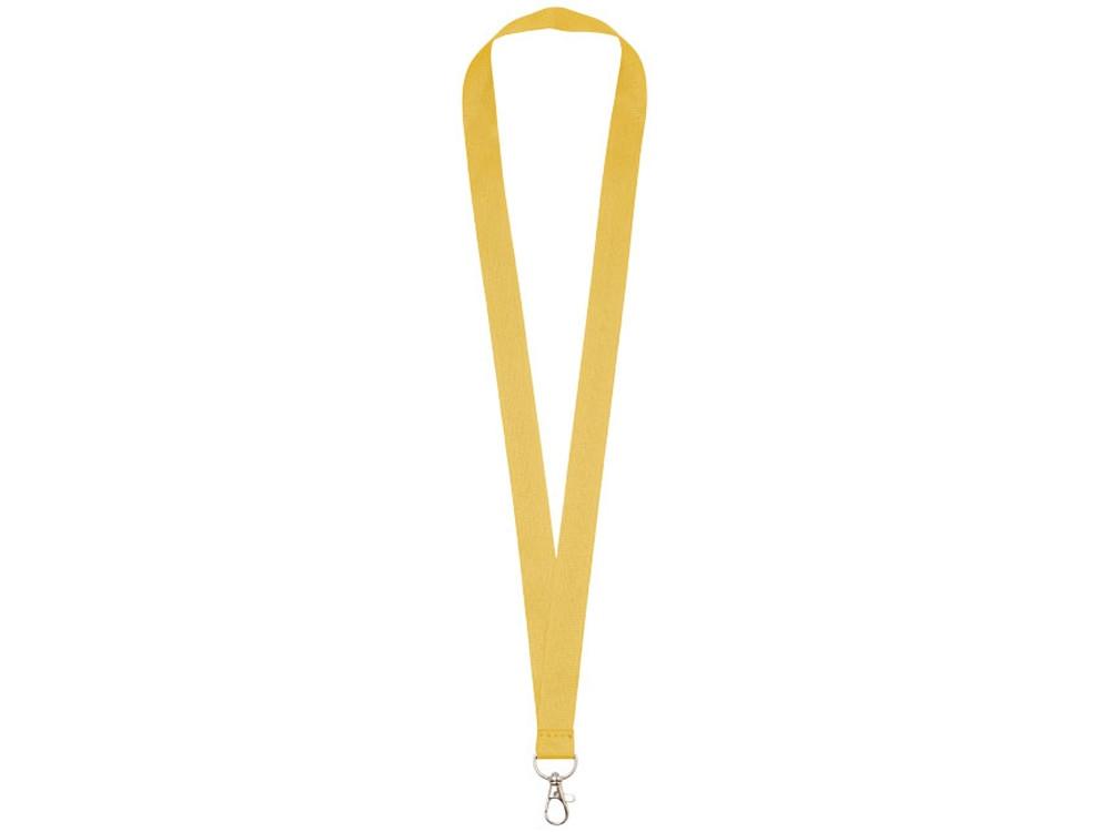 Шнурок с удобным крючком Impey, желтый