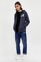 Толстовка мужская Finn Flare, цвет синий, размер M