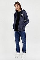 Толстовка мужская Finn Flare, цвет синий, размер 3XL