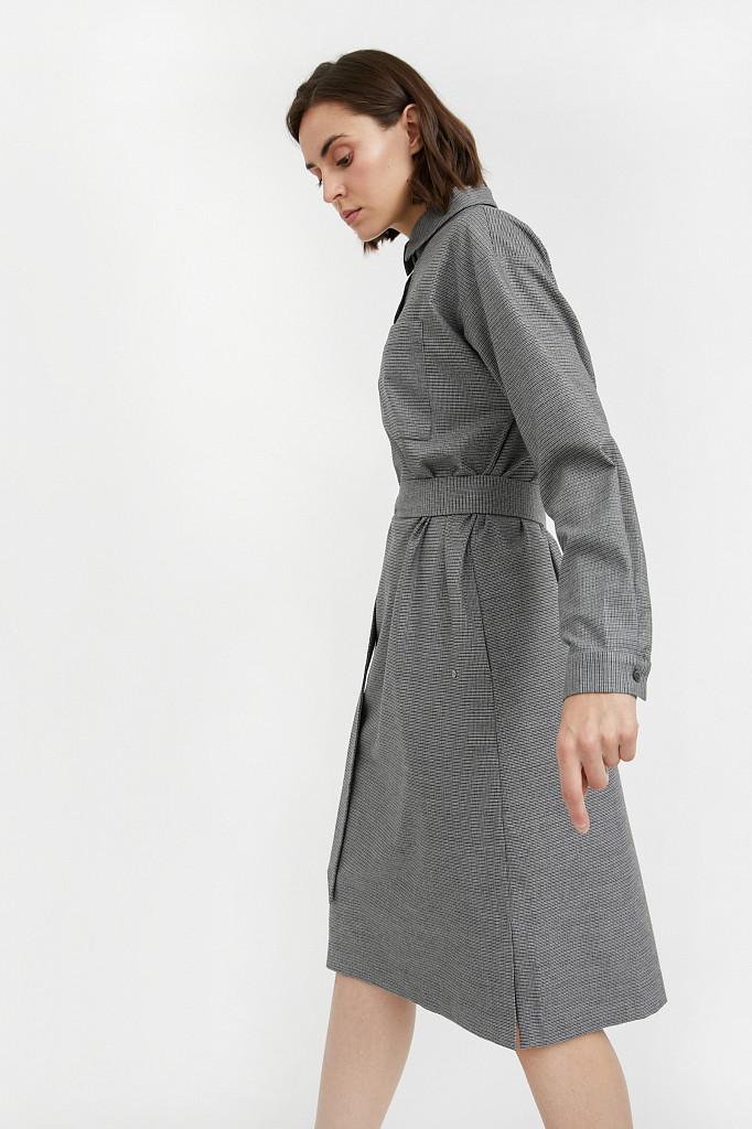 Платье женское Finn Flare, цвет серый, размер L - фото 3