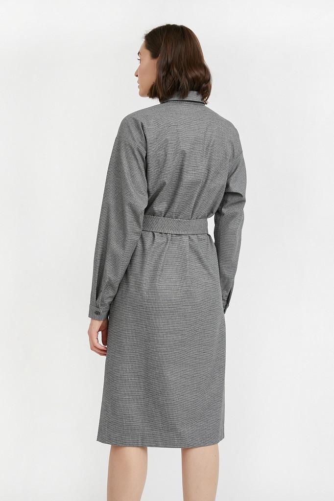 Платье женское Finn Flare, цвет серый, размер L - фото 4
