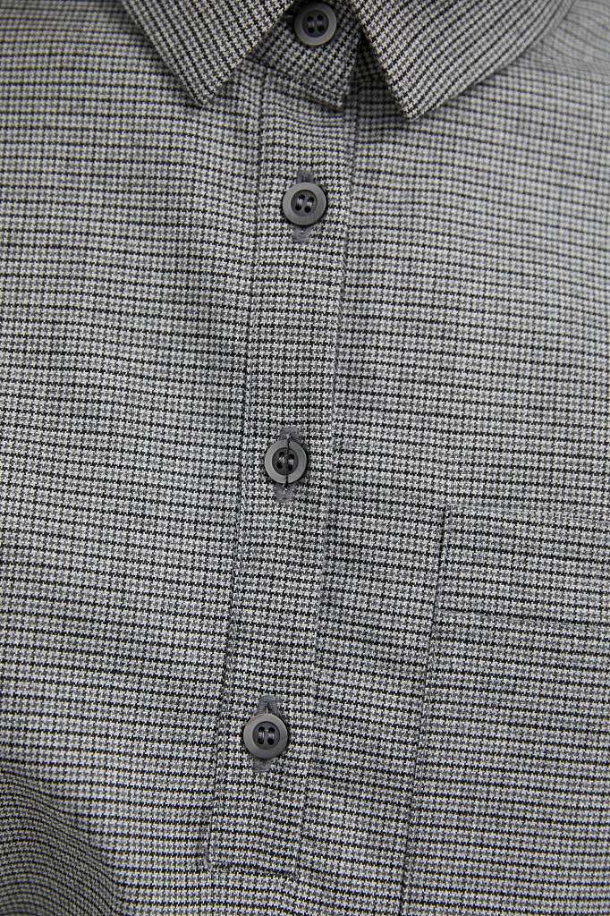 Платье женское Finn Flare, цвет серый, размер L - фото 5