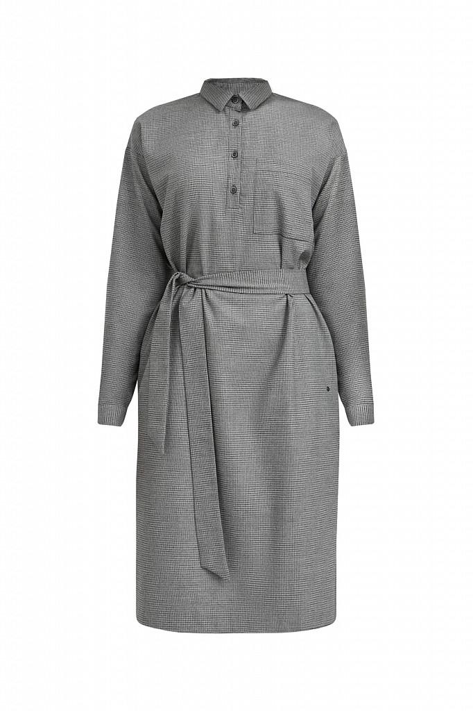 Платье женское Finn Flare, цвет серый, размер L - фото 7
