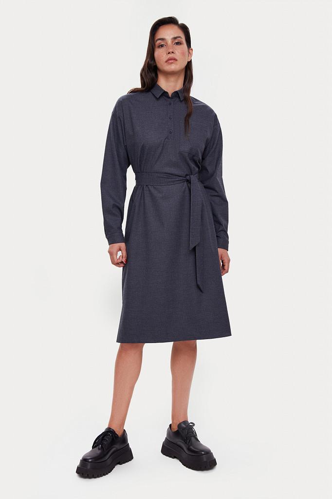 Платье женское Finn Flare, цвет голубой, размер M - фото 1