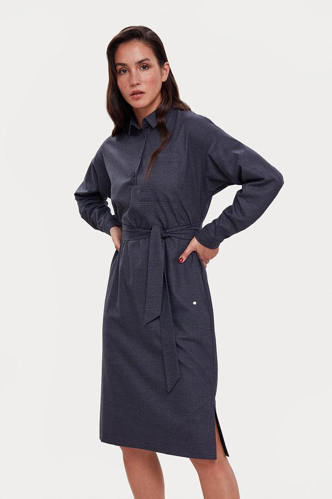 Платье женское Finn Flare, цвет голубой, размер M - фото 3