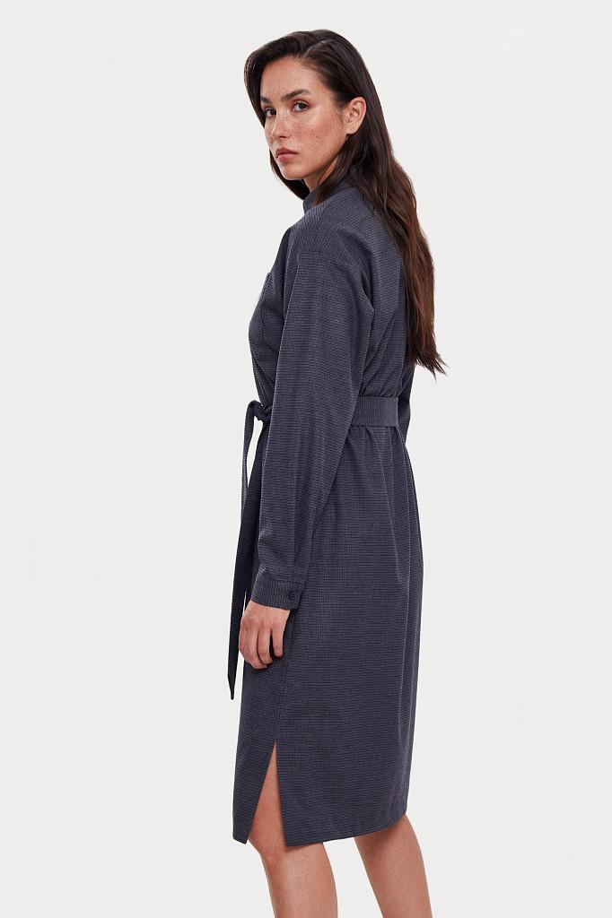 Платье женское Finn Flare, цвет голубой, размер M - фото 4