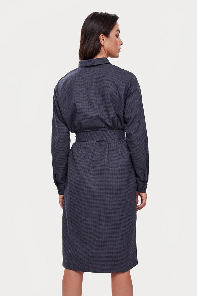 Платье женское Finn Flare, цвет голубой, размер M - фото 5