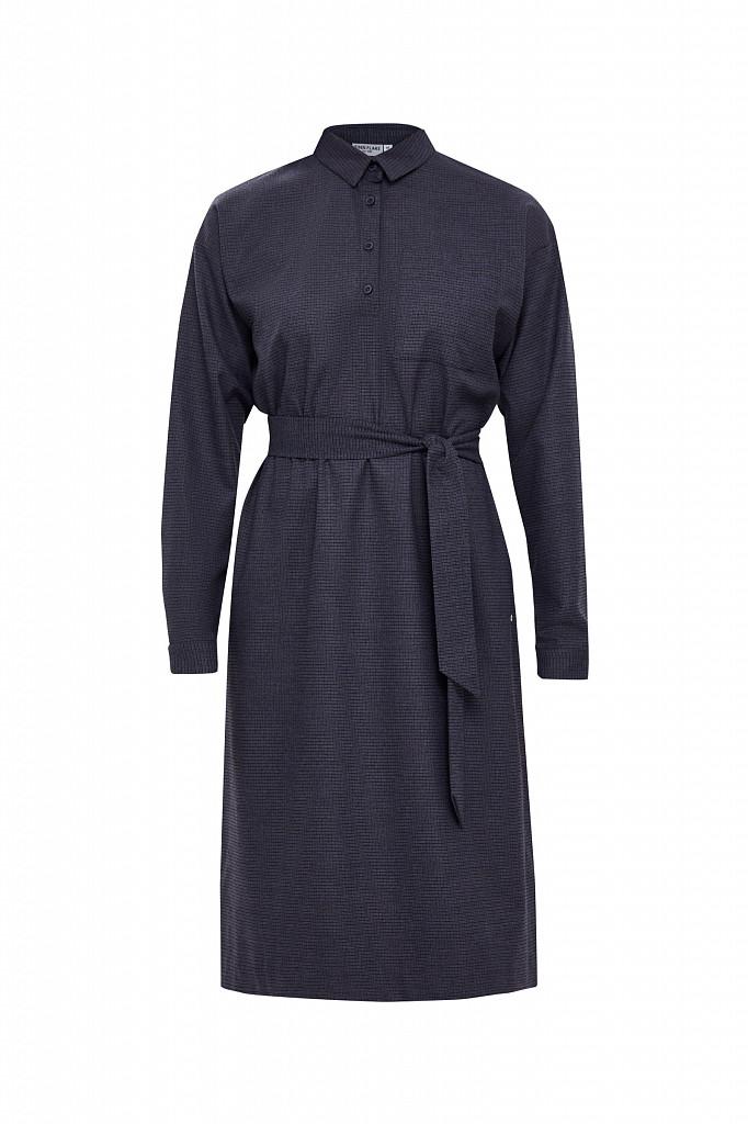 Платье женское Finn Flare, цвет голубой, размер M - фото 7