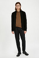 Кардиган мужской Finn Flare, цвет черный, размер 3XL