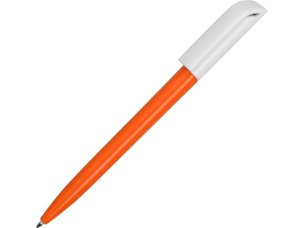 Ручка пластиковая шариковая Миллениум Color BRL, оранжевый/белый