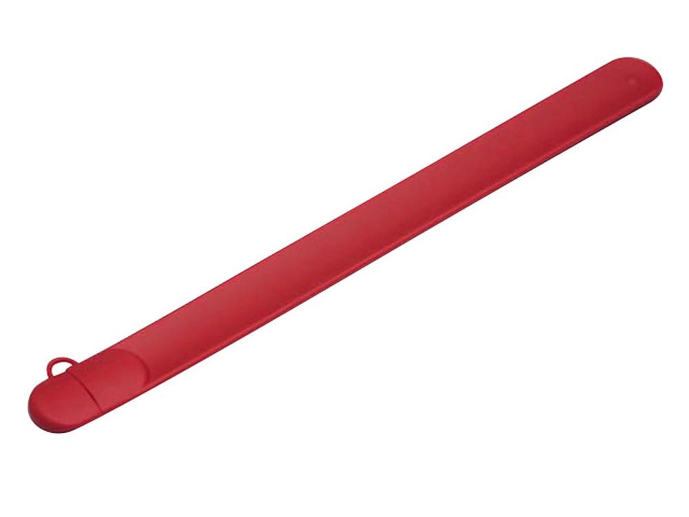 Флешка в виде браслета, 16 Гб, красный