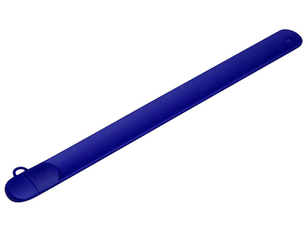 Флешка в виде браслета, 8 Гб, синий
