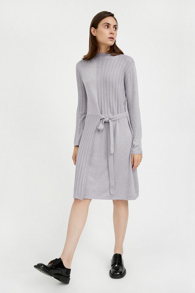 Платье женское Finn Flare, цвет голубой, размер S - фото 3