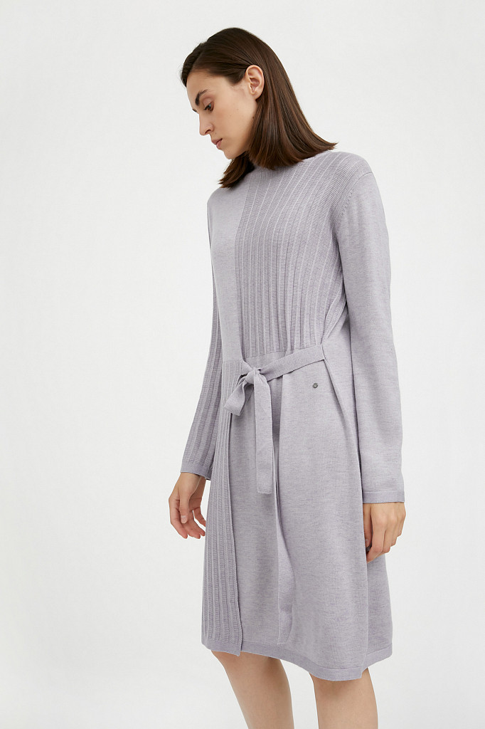 Платье женское Finn Flare, цвет голубой, размер S - фото 4