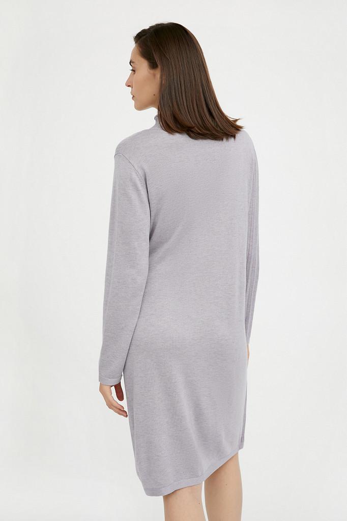 Платье женское Finn Flare, цвет голубой, размер S - фото 5