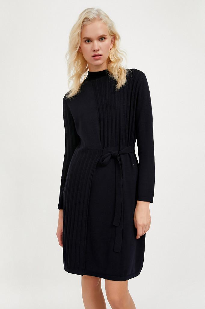 Платье женское Finn Flare, цвет темно-синий, размер XL - фото 1