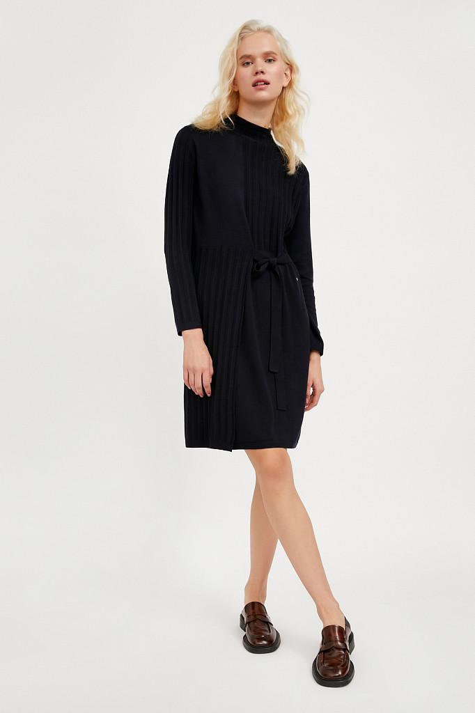 Платье женское Finn Flare, цвет темно-синий, размер XL - фото 2