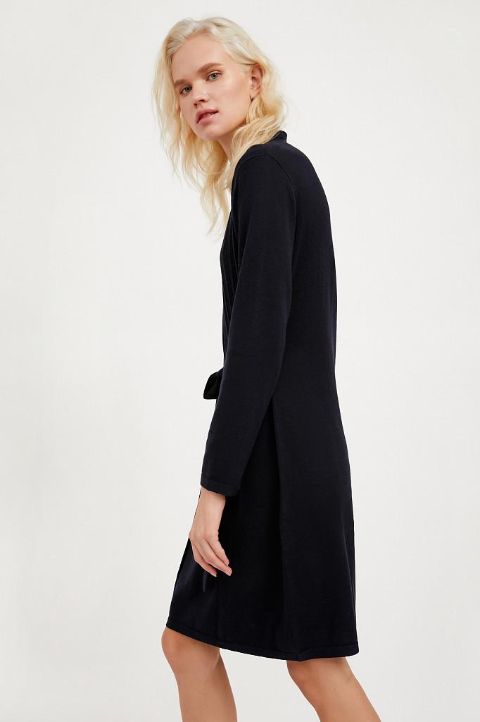 Платье женское Finn Flare, цвет темно-синий, размер XL - фото 4