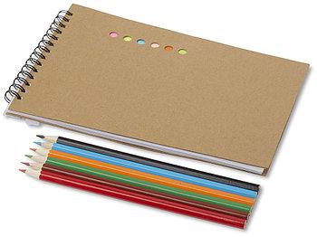 Набор для раскрашивания Hoppi, натуральный/разноцветный