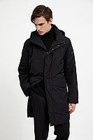 Пальто мужское Finn Flare, цвет черный, размер L