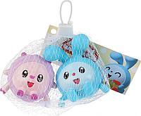 Набор игрушек для купания «Малышарики: Крошик и Барашек», в сетке