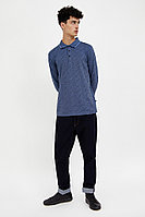 Поло мужское Finn Flare, цвет темно-синий, размер M