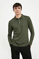 Поло мужское Finn Flare, цвет хаки, размер 4XL