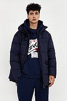 Полупальто мужское Finn Flare, цвет темно-синий, размер 3XL