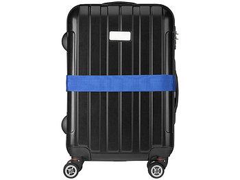 Багажный ремень, синий