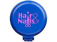 Складная щетка для волос, синий, фото 5