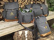 Рюкзак Campster со шнурками, темно-серый/коричневый, фото 4