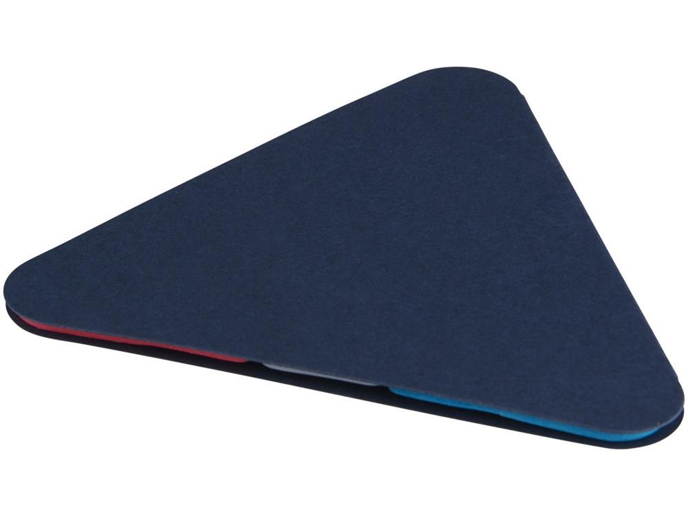 Треугольные стикеры, синий