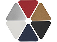 Треугольные стикеры, синий, фото 4