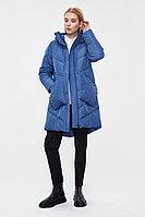 Пальто женское Finn Flare, цвет голубой, размер 3XL